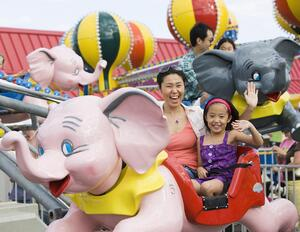 woman and child on ride - referrals